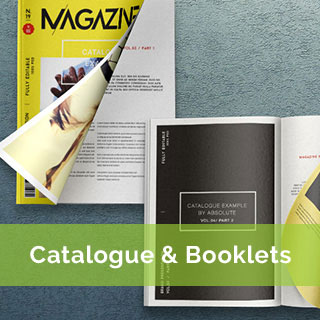 catalogue and booklet perfect bound printing
