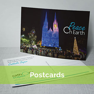 Postcard Printing with Absolute Colour Sydney
