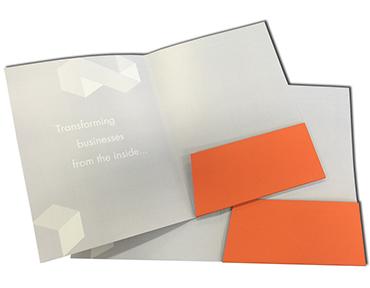 presentation folder printing Sydney