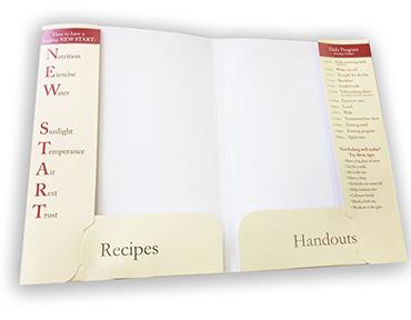corporate presentation folder printing