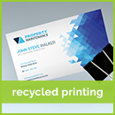 recycled business card printing
