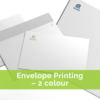 envelope printing 2 colour