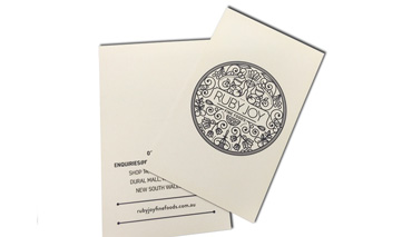 printing double sided business card