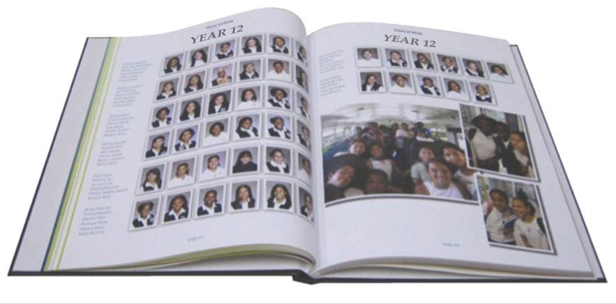 printing yearbooks
