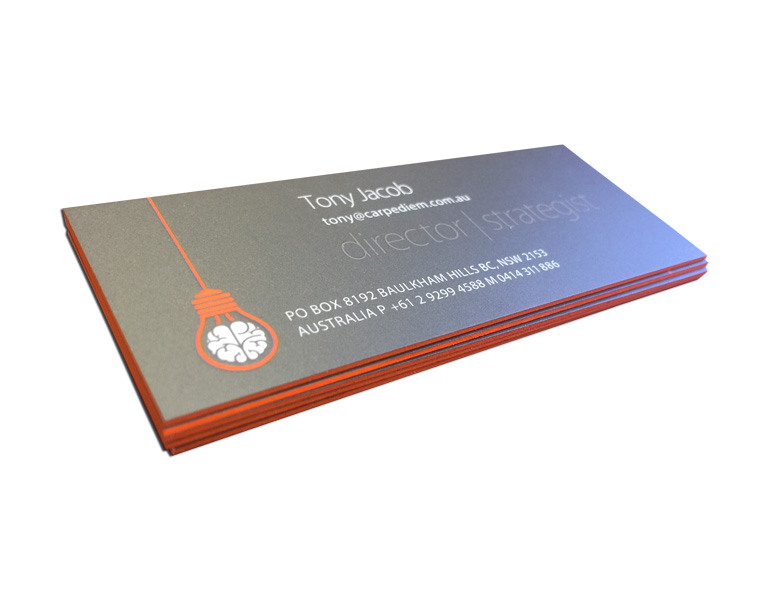 Custom business cards printing online in sydney australia project description reheart Choice Image