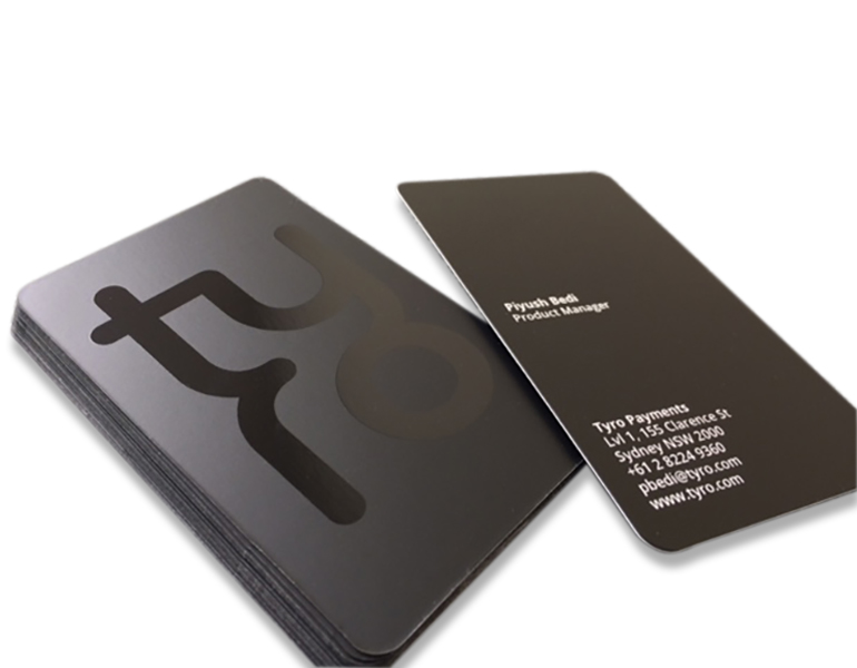 Presentation folder printing service in sydney and australia spot uv business cards with round corners reheart Images