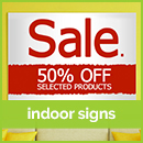 indoor sign printing