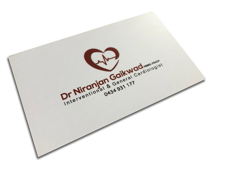 doctor-business-card-with-embossed-logo