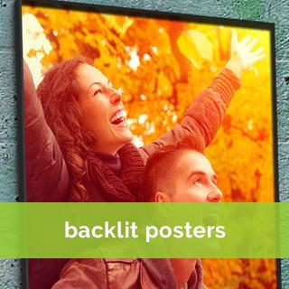 backlit poster printing service online