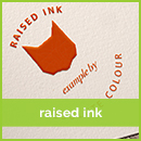 raised-ink business card printing