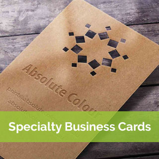 specialty print business cards