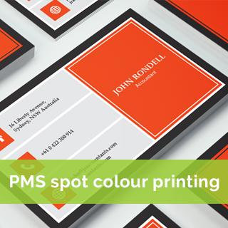 pms-spot-colour Business card