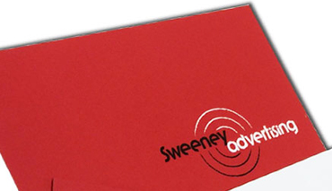 double sided Gloss laminate business cards