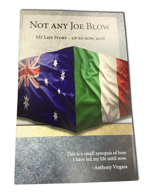 bio in novel booklet format