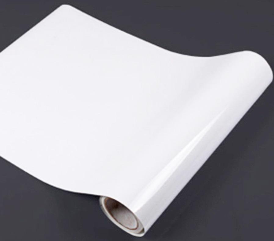 roll of polypropylene sticker material