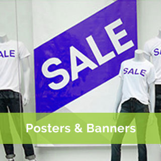 posters and banner printing