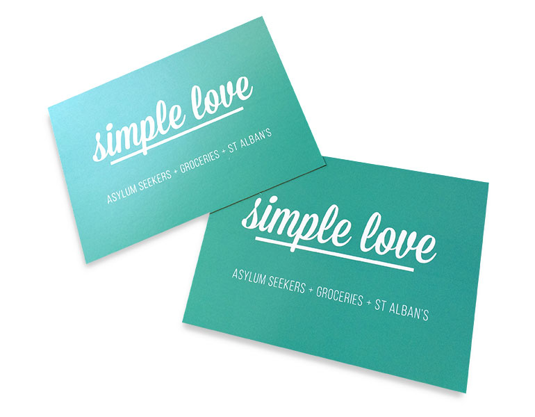 double sided business card printing matt