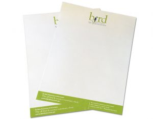 A4 letterhead printing