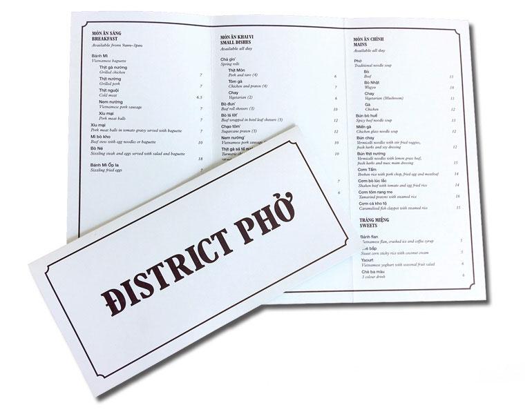 6 page DL menu