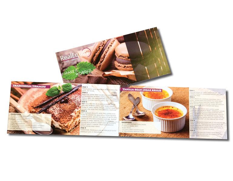 8pp DL landscape booklet