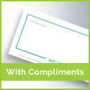 with-compliments printing