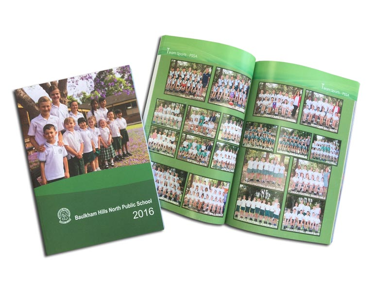 School Yearbook Printing Services Sydney, Near Me for Baulkham Hills North Public School