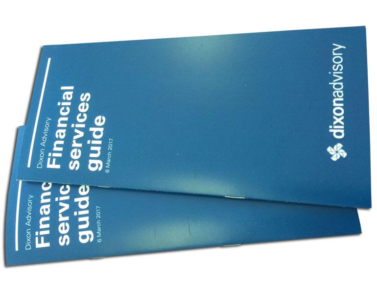 dl booklet design