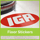 floor sticker printing