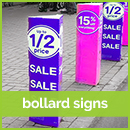 corflute-bollard-sign-printing sydney
