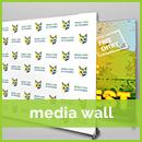 sydney media wall printing