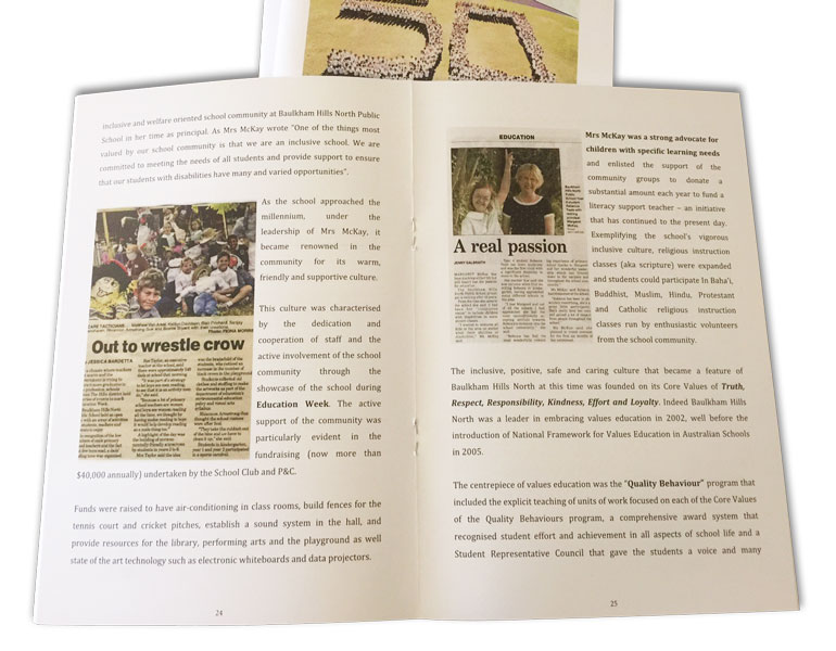A5-school-commemoration-book-open-flat