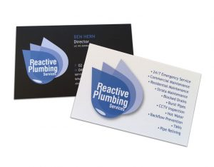 plumbers-business-cards