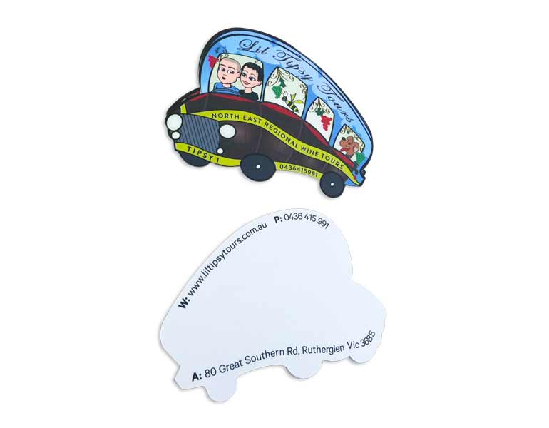diecut-bus-shape-business-cards-front-and-back