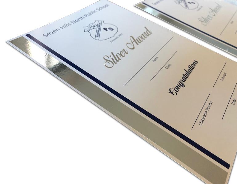 school-award-certificate-silver-foil