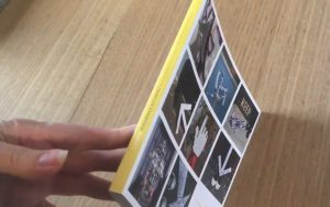 Square perfect bound spine booklet, 4 colour process printing Sydney Brisbane Melbourne Adelaide Australia