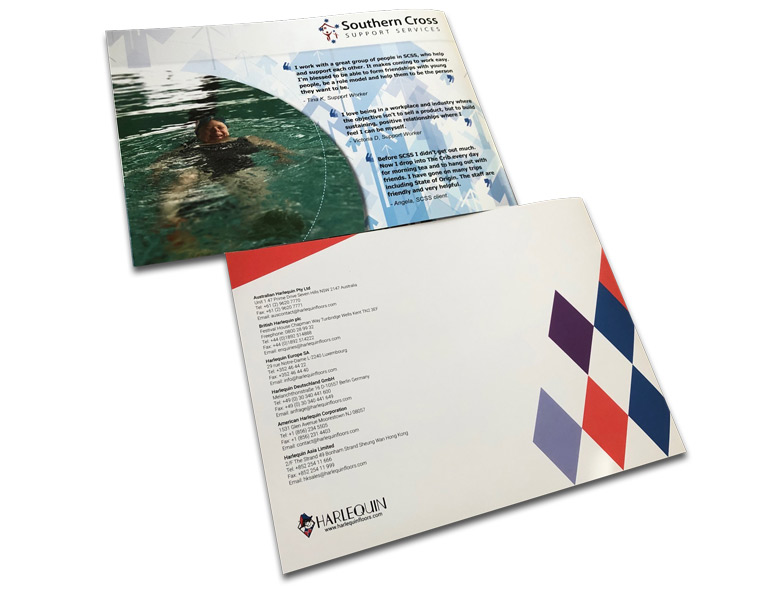 landscape-A4-booklets