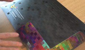 Custom Presentation Folders with raised UV Varnish