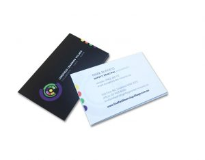 Black Plush Velvet Business Card Online Printing